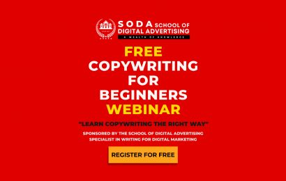 FREE COPYWRITING FOR BEGINNERS WEBINAR